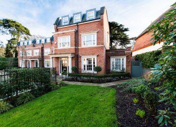 Thumbnail 4 bed end terrace house to rent in Warrenhurst Gardens, Weybridge, Surrey