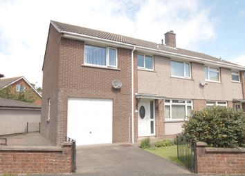 Thumbnail 4 bed semi-detached house for sale in The Crescent, Wigton