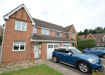 Thumbnail 3 bed semi-detached house to rent in Ramsdell Road, Fleet
