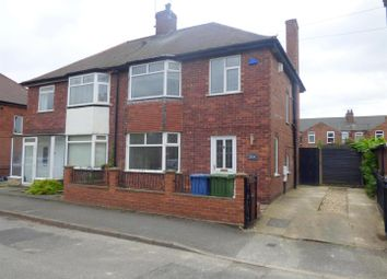 Thumbnail 3 bed semi-detached house for sale in Portland Street, Warsop, Mansfield