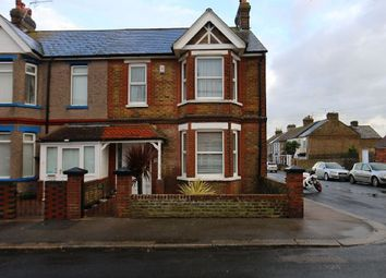 Thumbnail 4 bed end terrace house for sale in Victoria Avenue, Westgate-On-Sea, Kent