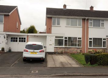 Thumbnail 3 bed semi-detached house for sale in Fieldhouse Drive, Muxton Telford