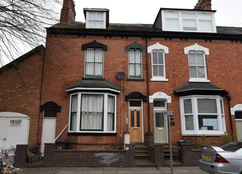Thumbnail 1 bedroom flat to rent in Saxby Street, Highfields, Leicester