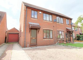 Thumbnail 2 bed semi-detached house for sale in Knights Close, Belton, Doncaster
