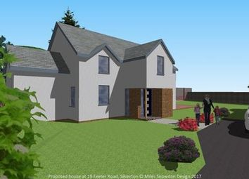 Thumbnail 3 bed detached bungalow for sale in Exeter Road, Silverton, Exeter