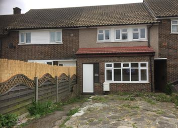 Thumbnail 3 bed terraced house to rent in Montgomery Crescent, Romford