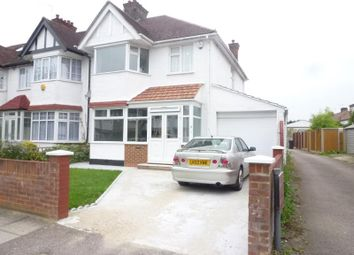 Thumbnail 3 bed semi-detached house to rent in Strathmore Gardens, Finchley, London