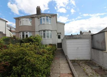 3 bed semi-detached house for sale in Swaindale Road, Peverell, Plymouth PL3