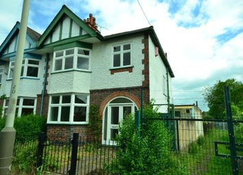 Thumbnail 3 bed semi-detached house for sale in Kimberley Road, Evington, Leicester