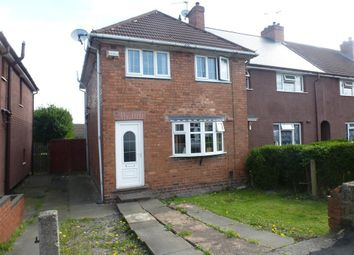 Thumbnail 3 bed end terrace house for sale in Lowe Avenue, Darlaston, Wednesbury