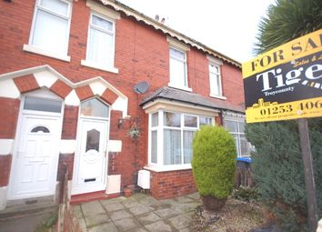 Thumbnail 4 bed terraced house for sale in Dunelt Road, Blackpool