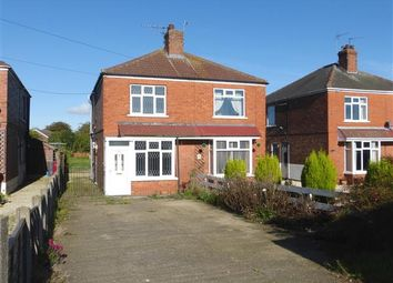 Thumbnail 2 bed semi-detached house to rent in Moorwell Road, Bottesford, Scunthorpe