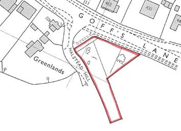 Thumbnail Land for sale in Land At Goffs Lane, Goffs Oak, Waltham Cross, Hertfordshire
