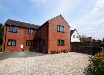 Thumbnail 5 bed detached house for sale in The Street, Ashwellthorpe, Norwich
