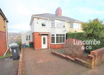 Thumbnail 3 bed semi-detached house to rent in Queens Hill Crescent, Newport
