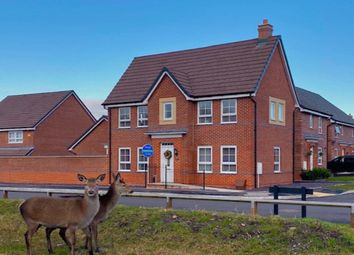 Thumbnail 3 bed detached house for sale in Oakley Road, Burntwood