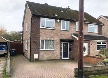 Thumbnail 3 bed semi-detached house for sale in Linley Grove, Alsager, Stoke-On-Trent, Cheshire