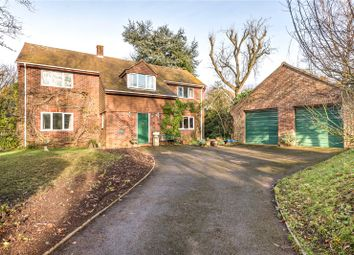 Thumbnail 4 bed detached house for sale in Church Road, Shillingstone, Blandford Forum, Dorset