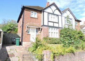 Thumbnail 3 bedroom semi-detached house to rent in Sandringham Close, Hove