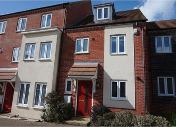 Thumbnail 3 bed town house to rent in Melrose Close, Maidstone