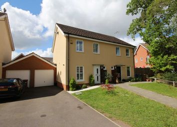 Thumbnail 3 bed semi-detached house for sale in Lysander Drive, Bracknell
