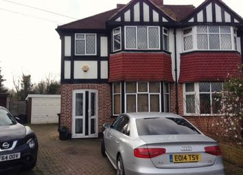 Thumbnail 3 bed semi-detached house to rent in Portland Avenue, New Malden
