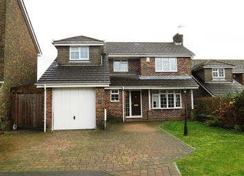 Thumbnail 4 bed detached house for sale in Wasdale Close, Horndean, Waterlooville