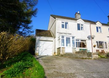 Thumbnail 3 bed semi-detached house for sale in Stenalees, St. Austell, Cornwall