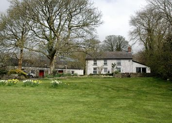Thumbnail 4 bed farmhouse for sale in Penrhiwllan, Llandysul