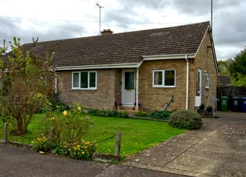 Thumbnail 2 bedroom semi-detached bungalow for sale in Poplar Close, Great Shelford, Cambridge