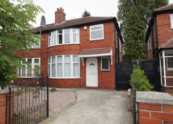 Thumbnail 6 bed semi-detached house for sale in Parrs Wood Road, Didsbury, Manchester