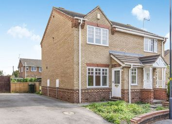 Thumbnail 2 bed semi-detached house for sale in Topcliffe Court, Selby