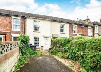 Thumbnail 2 bed terraced house for sale in Nadder Terrace, Churchfields Road, Salisbury