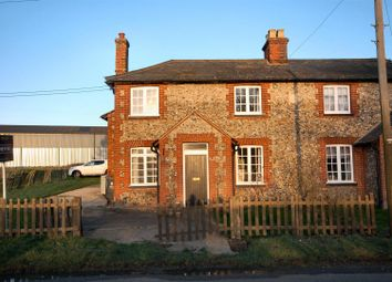 Thumbnail 2 bed semi-detached house to rent in Barham Hall Cottages, Bartlow Road, Linton