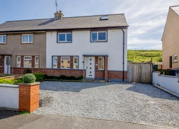 Thumbnail 3 bed semi-detached house for sale in The Bents, Banff