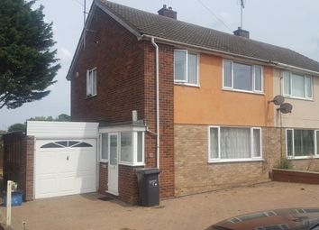 Thumbnail 3 bed semi-detached house to rent in Whitefield Road, Northampton