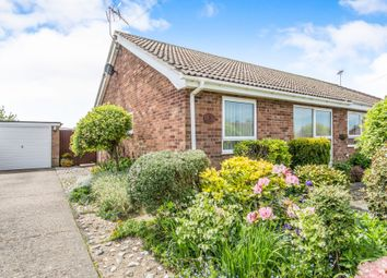Thumbnail 2 bed semi-detached bungalow for sale in The Paddock, Hemsby, Great Yarmouth