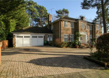 Thumbnail 5 bedroom detached house for sale in Castle Road, Camberley, Surrey