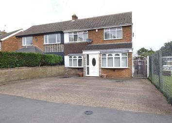 Thumbnail 4 bed semi-detached house for sale in Hobnock Road, Essington, Wolverhampton, Staffordshire