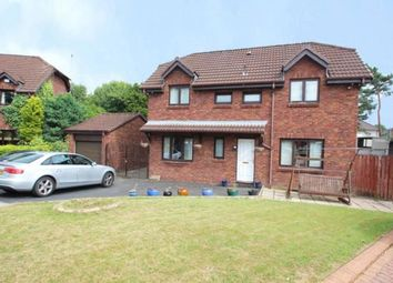 Thumbnail 4 bed detached house for sale in Merlinford Crescent, Renfrew, Renfrewshire