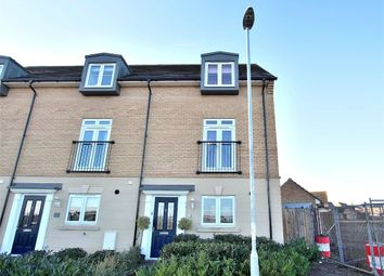 Thumbnail 4 bed end terrace house for sale in Hawthorn Way, Dunmow