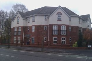 Thumbnail 2 bed flat to rent in Parrswood Road, Withington