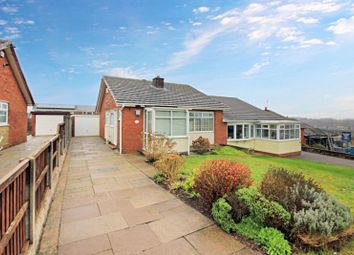 Thumbnail 2 bed semi-detached bungalow for sale in Cornwall Avenue, Newcastle