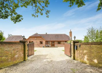 Thumbnail 4 bedroom detached house for sale in Newtown Road, Awbridge, Romsey