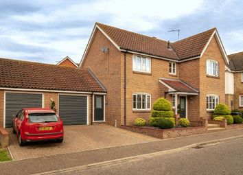 Thumbnail 4 bedroom detached house for sale in Blake Drive, Bradwell, Great Yarmouth