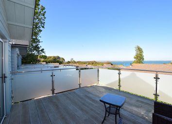 Thumbnail 2 bed mobile/park home for sale in Fort Warden Road, Beach House 1-3, Totland Bay, Isle Of Wight