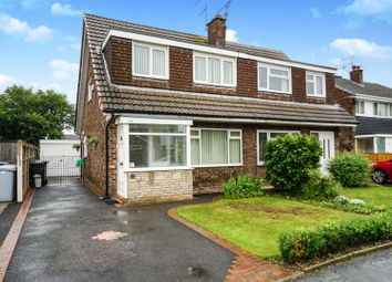 Thumbnail 3 bed semi-detached house for sale in Bowness Road, Crewe