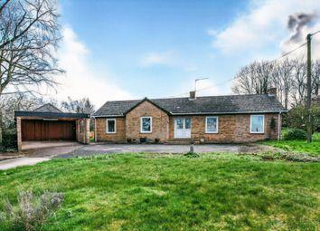 Thumbnail 3 bed detached bungalow for sale in Church Lane, Whittington, King's Lynn