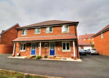 Thumbnail 3 bed semi-detached house for sale in Beaker Way, Salisbury