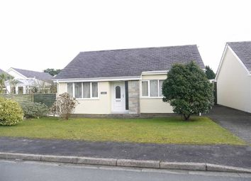 Thumbnail 2 bed bungalow to rent in Y Ffridd, Morfa Bychan, Porthmadog